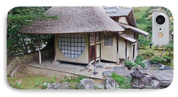 Japan, Kyoto, Kodai-ji Temple, Tea IPhone Case by Rob Tilley
