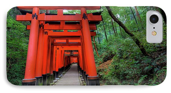 Japan, Kyoto Torii Gates IPhone Case