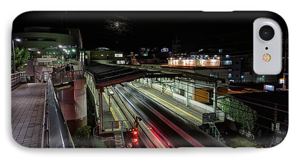 Japan Train Night IPhone Case