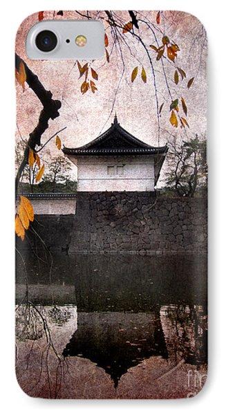 Japanese Autumn IPhone Case by Eena Bo