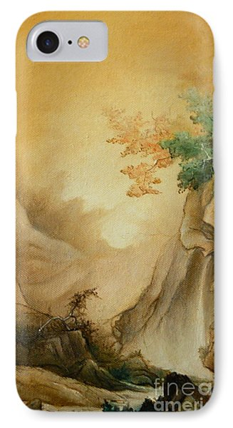 Japanese Autumn IPhone Case by Sorin Apostolescu
