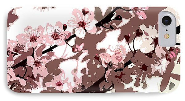 Japanese Blossom Phone Case by Sarah OToole