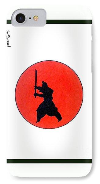 Japanese Bushido Way Of The Warrior Phone Case by Gordon Lavender