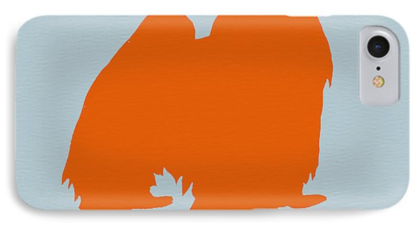 Japanese Chin Orange Phone Case by Naxart Studio