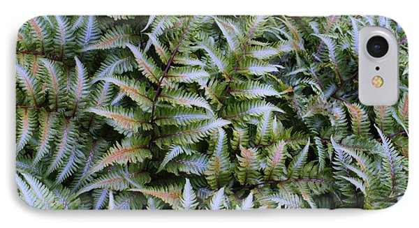 IPhone Case featuring the photograph Japanese Ferns by Kathryn Meyer