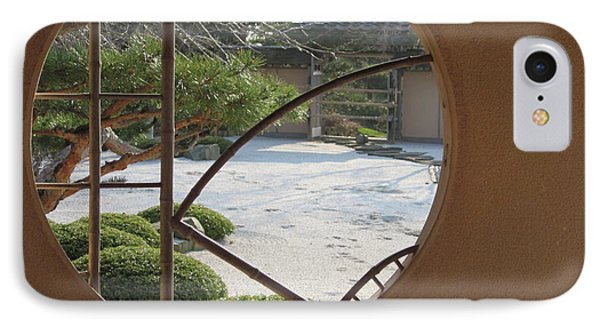 IPhone Case featuring the photograph Japanese Garden by Kathie Chicoine