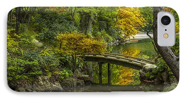 IPhone Case featuring the photograph Japanese Garden by Sebastian Musial