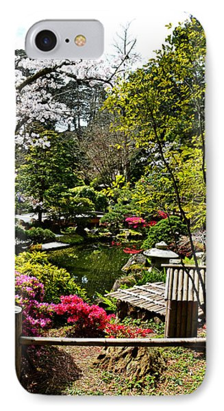 Japanese Gardens Phone Case by Holly Blunkall