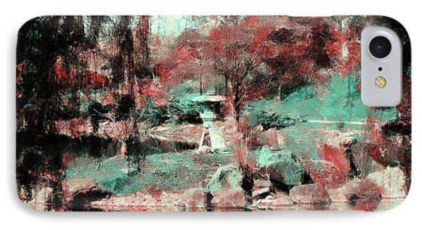Japanese Garden's Phone Case by Kathleen Struckle