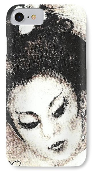 Japanese Girl. IPhone Case