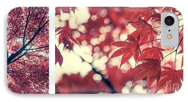 Japanese Maple Collage Phone Case by Hannes Cmarits