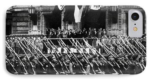 Japanese Military Parade IPhone Case