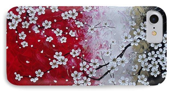 Japanese Plum Blossoms Phone Case by Tomoko Koyama