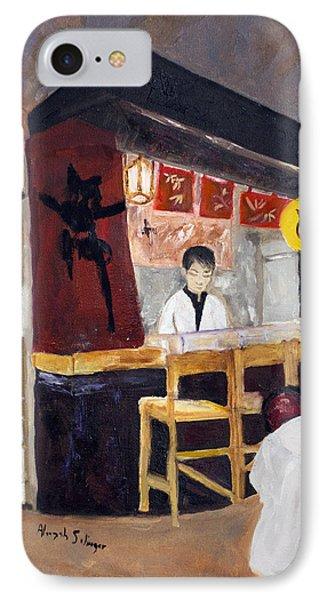 Japanese Restaurant IPhone Case by Aleezah Selinger