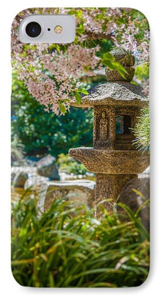 Japanese Shrine In The Garden IPhone Case by Sarit Sotangkur