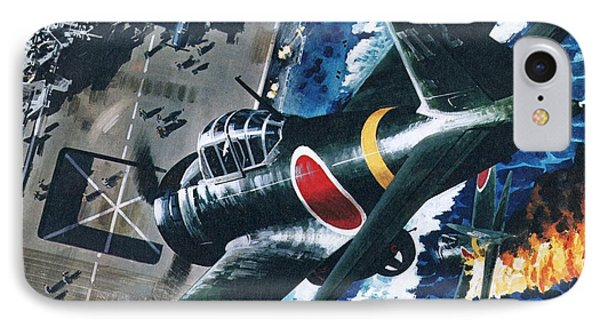 Japanese Suicide Attack On American IPhone Case by Wilf Hardy