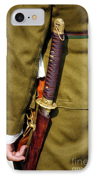 Japanese Sword Ww II Phone Case by Thomas Woolworth