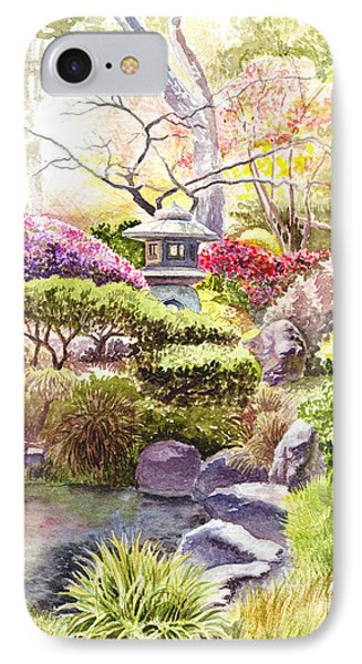 San Francisco Golden Gate Park Japanese Tea Garden  IPhone Case by Irina Sztukowski