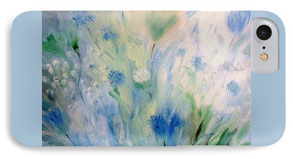 Jardin Bleu IPhone Case by Julie Brugh Riffey