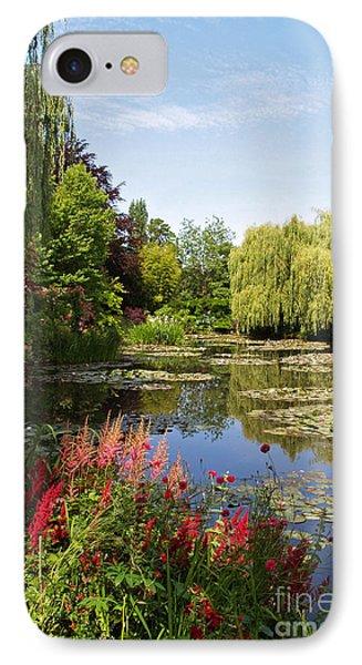 Jardin D'eau Phone Case by Alex Cassels