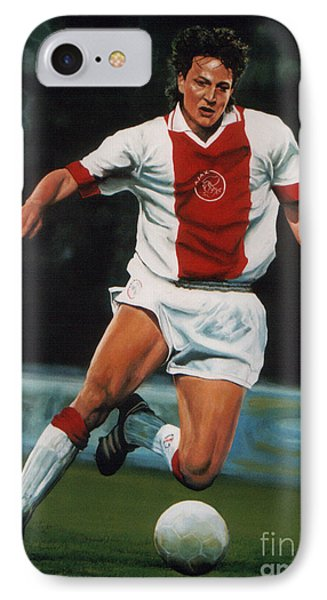Jari Litmanen IPhone Case by Paul Meijering