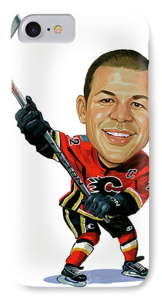 Jarome Iginla IPhone Case