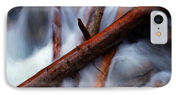 Jasper - Beauty Creek Logs Phone Case by Terry Elniski