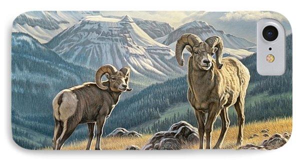 Jasper Rams IPhone Case by Paul Krapf
