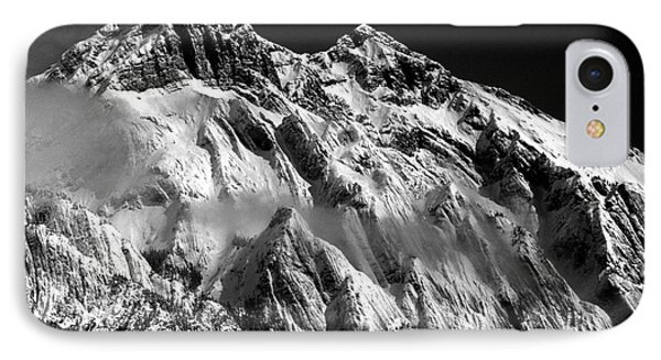 Jasper - Snow Packed Mountain In Spring IPhone Case