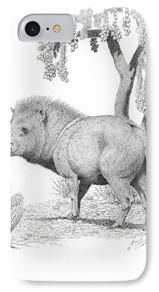 Javelina  IPhone Case