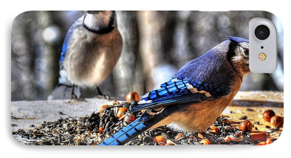 Jay Jay IPhone Case by Craig T Burgwardt
