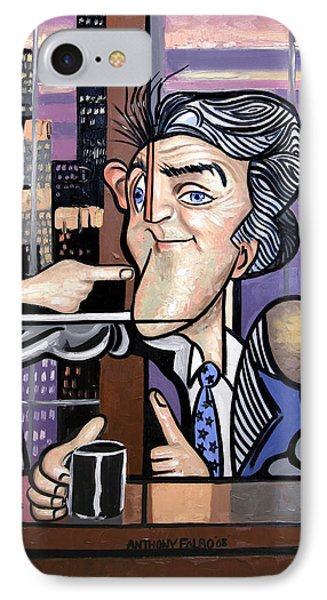 Jay Leno You Been Cubed Phone Case by Anthony Falbo
