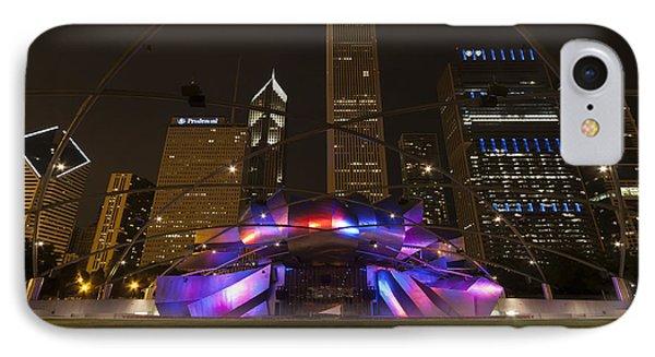 Jay Pritzker Pavilion Chicago Phone Case by Adam Romanowicz