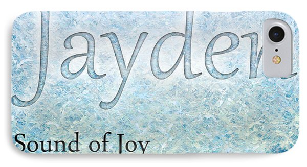Jayden - Sound Of Joy Phone Case by Christopher Gaston