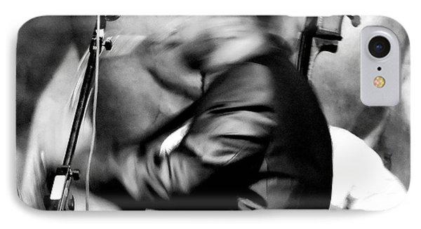 Jazz 7 IPhone Case by David Gilbert