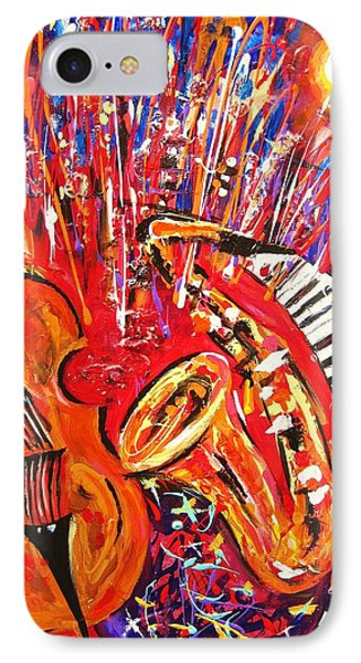 Jazz And The City 2 IPhone Case by Helen Kagan