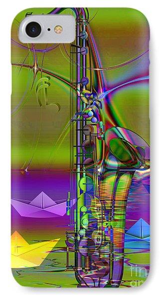 Jazz Chill Phone Case by Eleni Mac Synodinos
