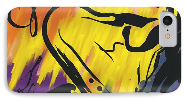 Jazz It Up Phone Case by Kristie Mercer
