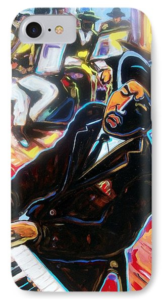 IPhone Case featuring the painting Jazz Man by Emery Franklin