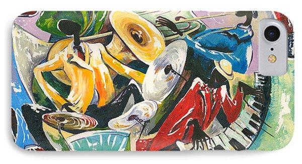 Jazz No. 3 Phone Case by Elisabeta Hermann