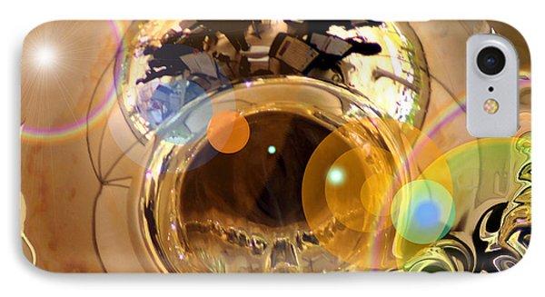 Jazz Reflections IPhone Case