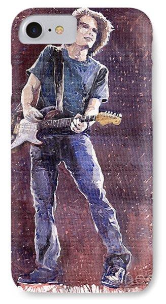 Jazz Rock John Mayer 01 Phone Case by Yuriy  Shevchuk