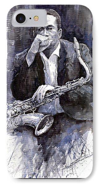Jazz Saxophonist John Coltrane Black IPhone 7 Case