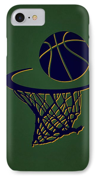 Jazz Team Hoop2 IPhone Case