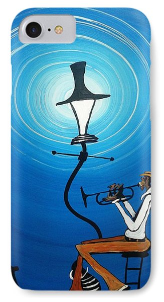 Jazz With My Dog Phone Case by Guilbeaux Gallery