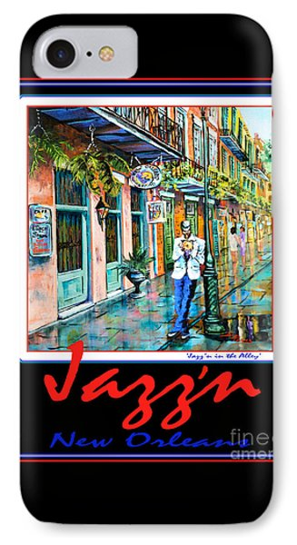 Jazz'n New Orleans Phone Case by Dianne Parks