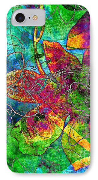 IPhone Case featuring the digital art Jazzy by Darla Wood