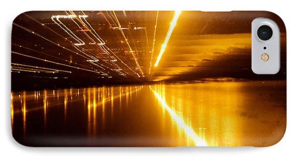 Jazzy Light IPhone Case by Rajiv Chopra