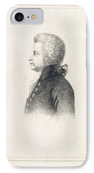 J.c.w.t. Mozart IPhone Case by British Library