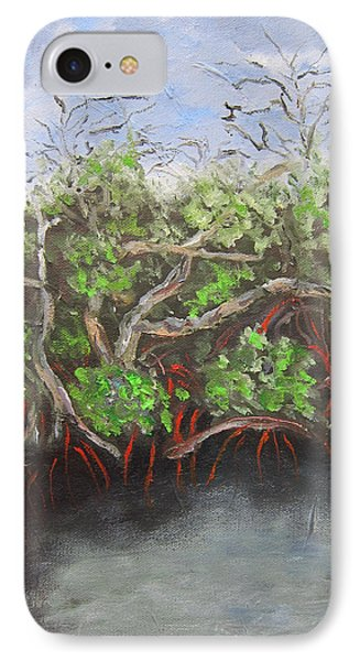Jd Macarthur Mangroves IPhone Case by Kathryn Barry